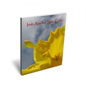 Irish Airs for Solo Cello available at Play Cello Music Estore
