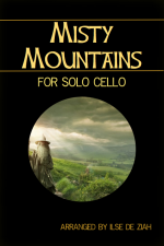 Misty Mountains For Solo Cello